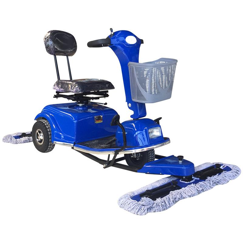 厂家直销电动尘推车DJ500电动拖地车配置加压功能