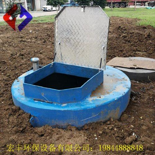 定制一体化泵站设计 污水提升一体化泵站施工方案 宏丰