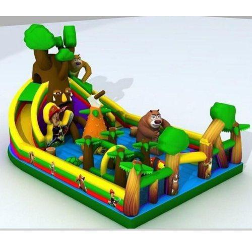 乐飞洋 形象城堡气模玩具新品 儿童乐园气模玩具新款