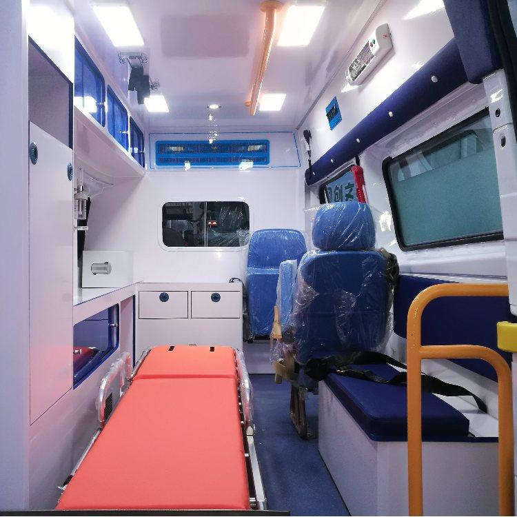 362福特全顺救护车 福特新全顺救护车销售 豫康辉