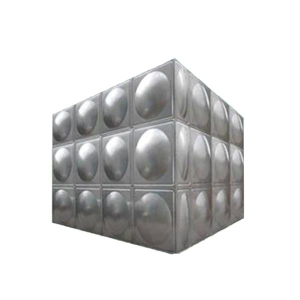 出口不锈钢水箱定制 高效节能不锈钢水箱定制 润邦环境