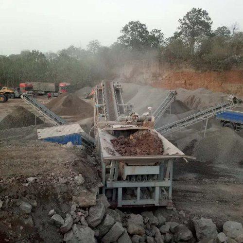 石灰岩制砂机保养 制砂机设备厂家 君诺 石灰岩制砂机