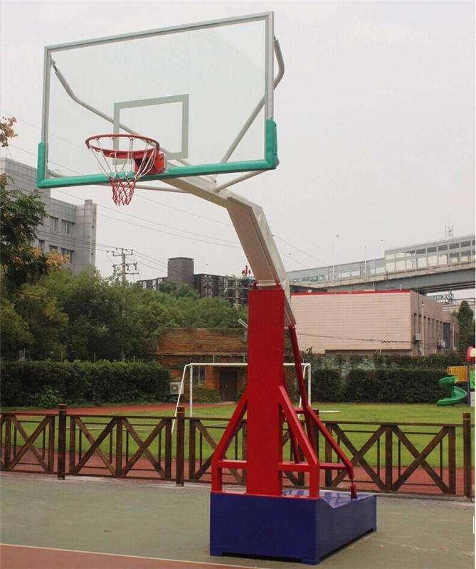 常州仿液压篮球架费用 平箱式仿液压篮球架 可加工定制