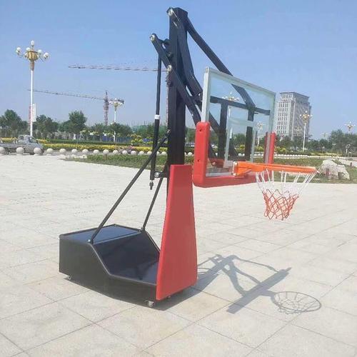 赣州仿液压篮球架定制 平箱式仿液压篮球架 全国均可发货