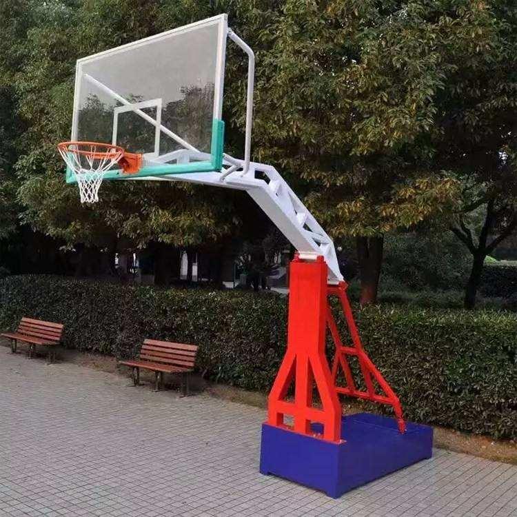 嘉兴仿液压篮球架出售 平箱式仿液压篮球架 精工打造 质量有保证