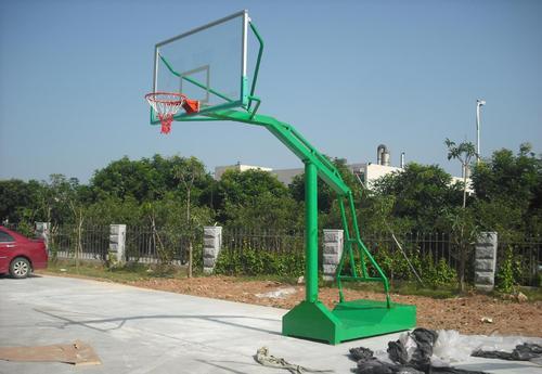 蚌埠凹箱国标篮球架厂 平箱式仿液压篮球架 全系列全规格