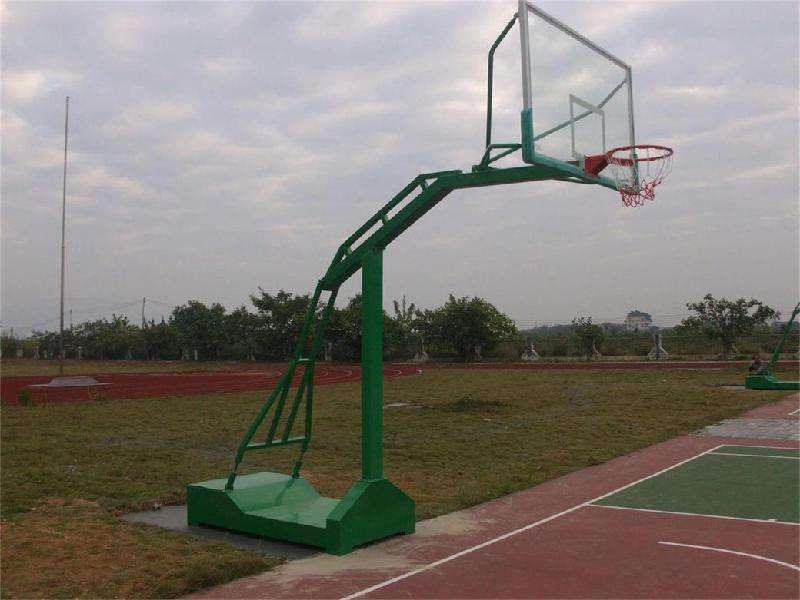鞍山凹箱国标篮球架厂 平箱式仿液压篮球架 全系列全规格