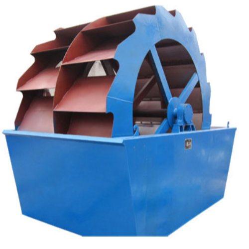砂石料洗砂机生产线 制砂洗砂机视频 水轮式洗砂机 珂祺机械