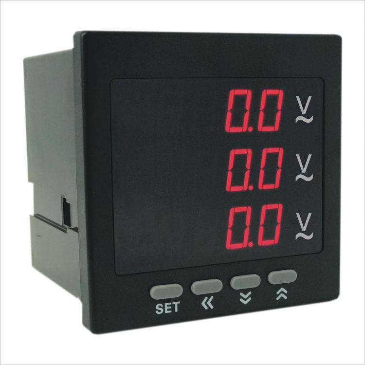 奥宾数显三相电压表厂家直销 产品有质量保证