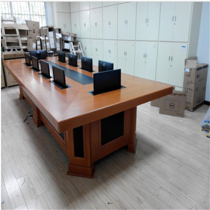 智能升降会议桌供应商 志欧 销售智能升降会议桌定制