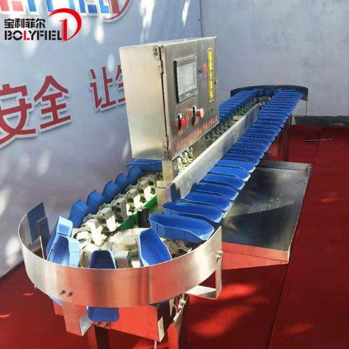 料盒式重量分级机 生蚝分类机 干海参称重分选机 高精度