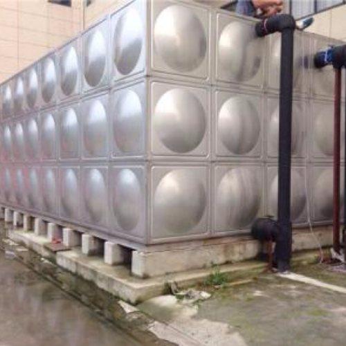 重庆吉铄金属制品 写字楼不锈钢消防水箱安装