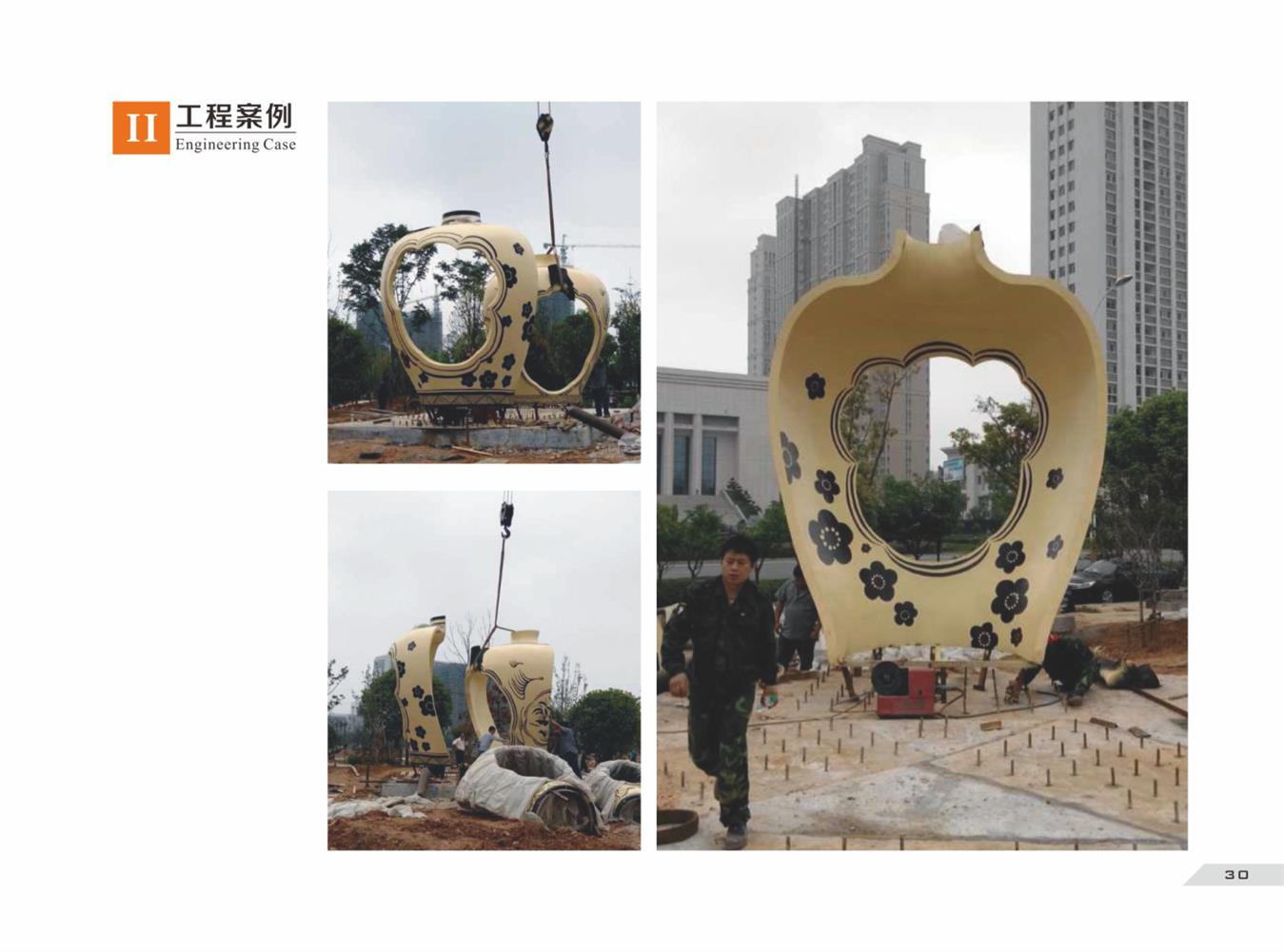 广州芒果雕塑承接海口玻璃钢雕塑定做定制 可根据客户要求定制