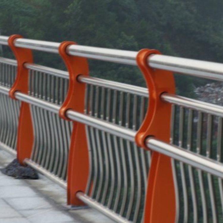 双金属复合管桥梁钢栏杆定做 钢制桥梁钢栏杆定制 航拓