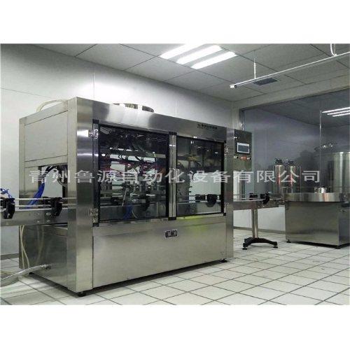 青州豆油灌装生产线 自动豆油灌装生产线 鲁源灌装线