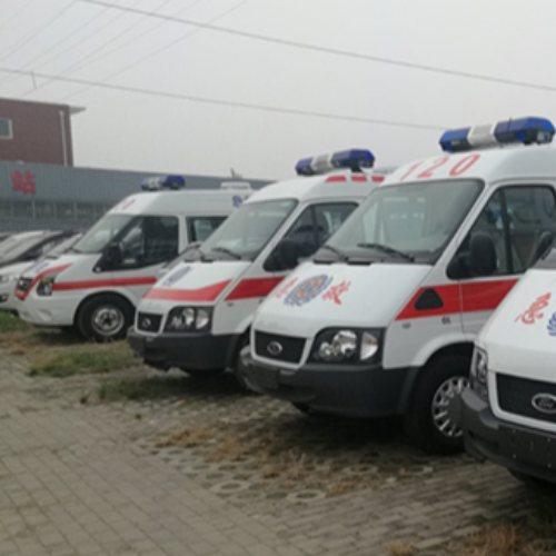 豫康辉 120救护车 进口120救护车厂家 小型私人救护车销售