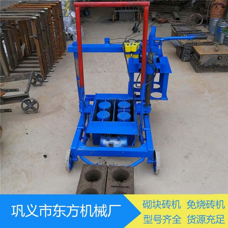 静压砌块砖机生产能力 小型静压砌块砖机全套设备 东方
