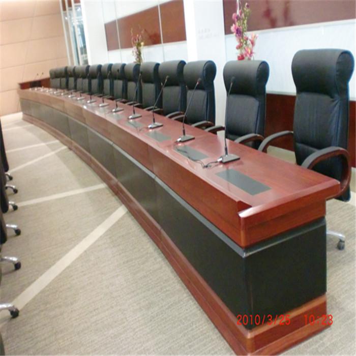 电脑自动升降会议桌供应商 志欧 电脑自动升降会议桌定制