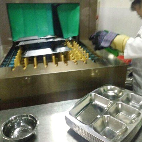 饭店食堂洗碗机哪个牌子好 华璟 中型食堂洗碗机多少钱