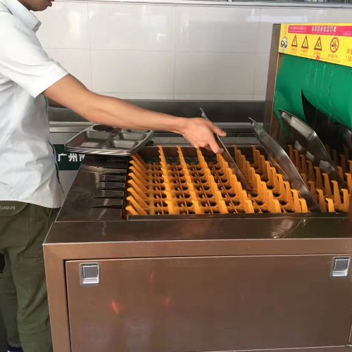 华璟 美食城洗碗机规格 大型美食城洗碗机价钱