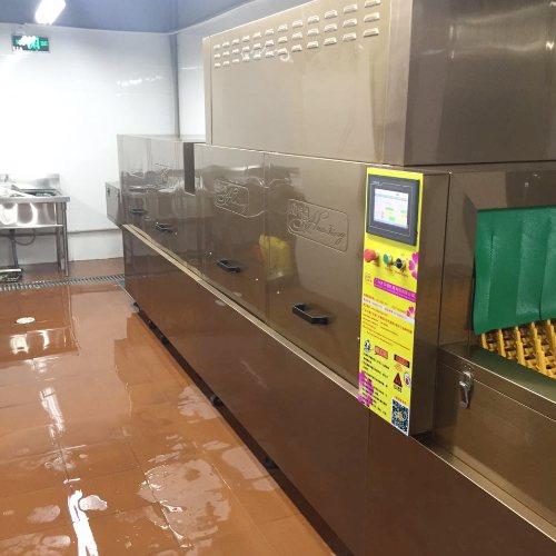 华璟 饭店食堂洗碗机品牌 餐馆食堂洗碗机供应商