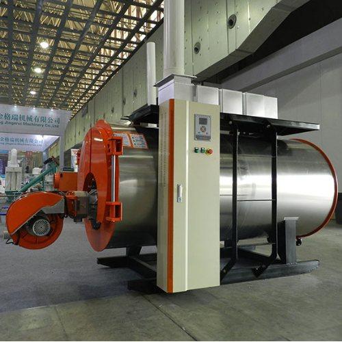 全自动燃气燃油冷凝热水锅炉温室加温供暖育雏育苗热水锅炉