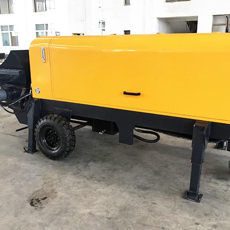 柴油电动细石混凝土输送泵 小型细石混凝土输送泵型号