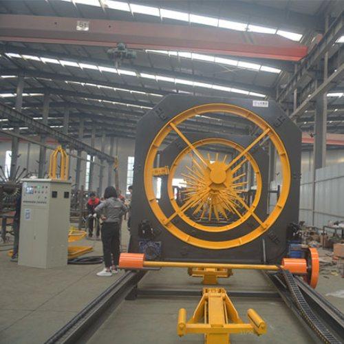 中济鲁源 钢筋笼滚焊机型号 自动钢筋笼滚焊机型号规格