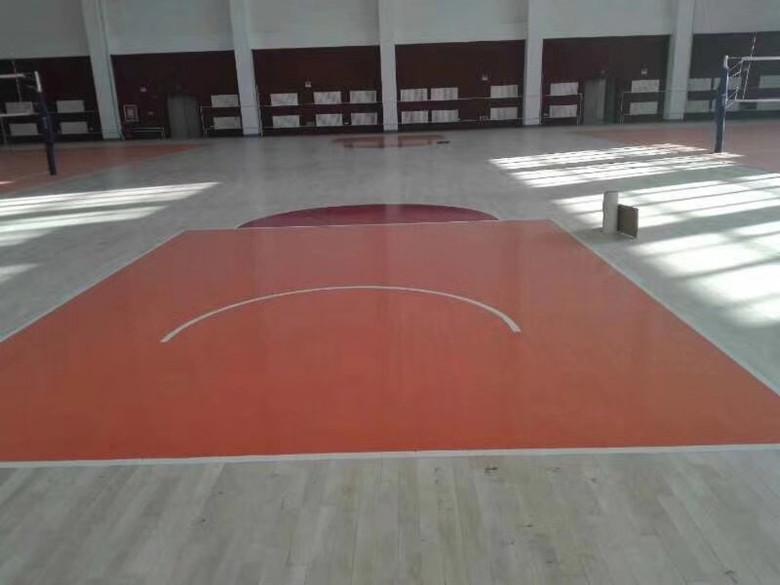 上海硬木运动木地板 硬木篮球木地板 欢迎咨询考察