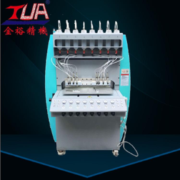 PC软胶胶章点胶机 全自动PVC点胶机价格 PVC滴塑设备生产厂家