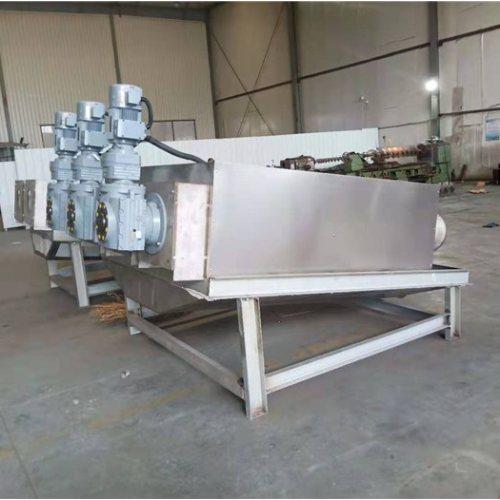 处理5方淤泥的叠螺压滤机 化工厂叠螺压滤机规格 弘满环保