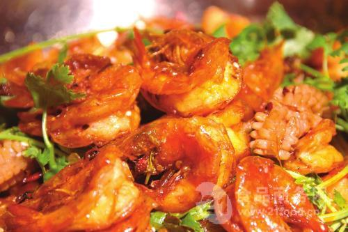 干锅虾火锅底料 干锅虾底料做法 香辣干锅虾放的酱