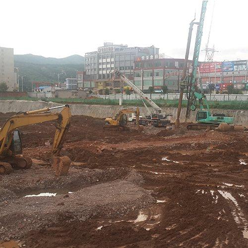 360旋挖钻机施工工程 晨功 桩基旋挖钻机施工工程标准
