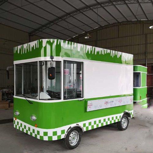 电动三轮车仿古小吃车 流动仿古小吃车直销 美旺餐车