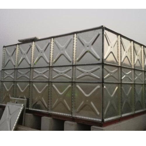 66立方组合式镀锌水箱 中祥供货及时 63立方组合式镀锌水箱供应商