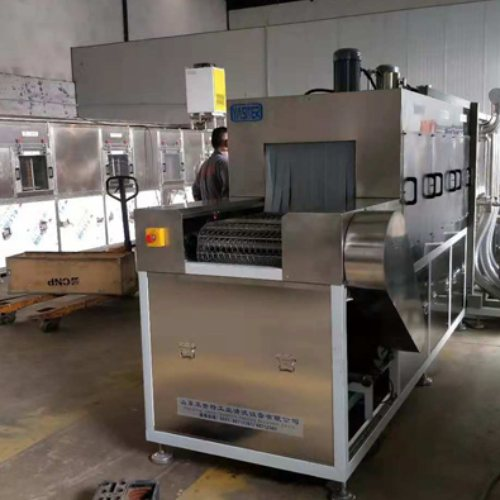 铜管通过式喷淋清洗机定做 亚世特 新疆通过式喷淋清洗机制造企业