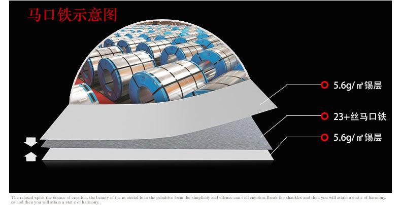 茶叶铁盒铁料工艺图