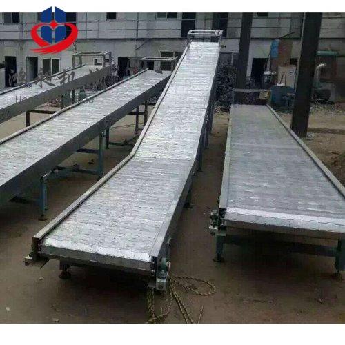 鸿昶 专业链板输送机报价 水平链板输送机