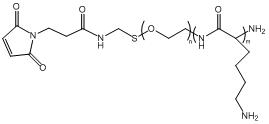 PLL-PEG-MAL 马来酰亚胺-聚乙二醇-聚赖氨酸