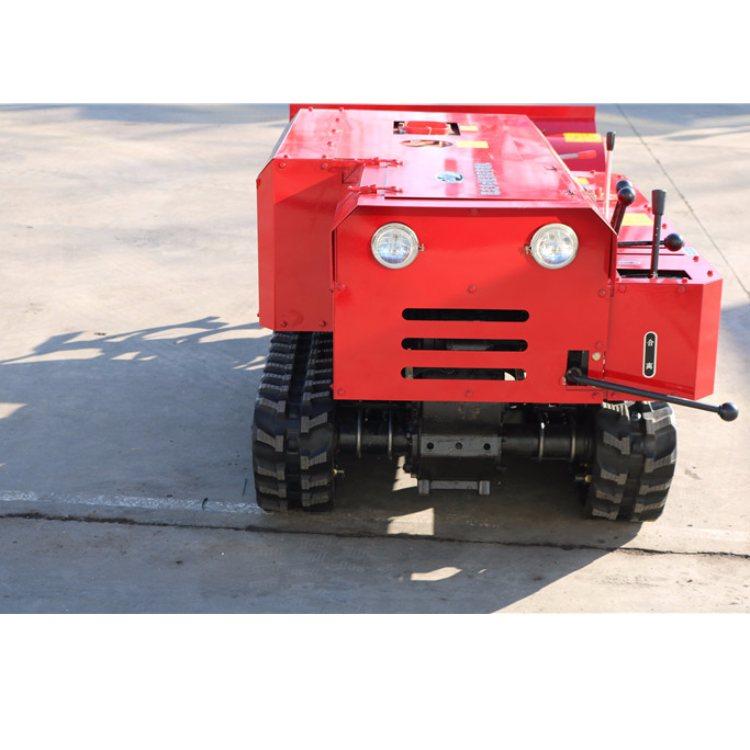 众达 新型自走式履带旋耕机 履带旋耕机供应
