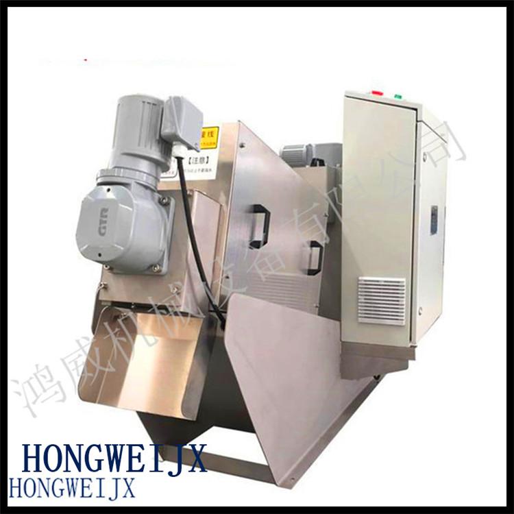 污水污泥脱水机压滤机 制药污泥脱水机生产 鸿威 电镀污泥脱水机