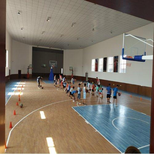 4.5mm篮球场 3.5mm篮球场地胶 耐福雅 天津篮球场地胶