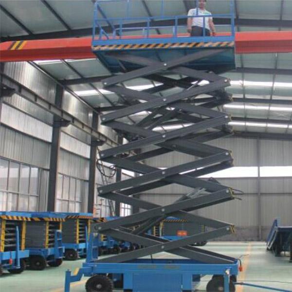 四轮移动式升降平台供应商 丰润机械 小型移动式升降平台定制