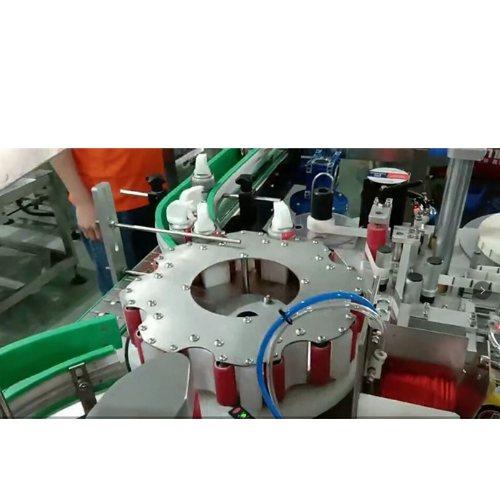 喷雾剂高速贴管机定做 速冻剂高速贴管机销售 腾卓机械