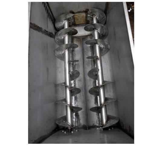 鼎诺机械 双螺旋和面机报价 双蛟龙和面机操作方便