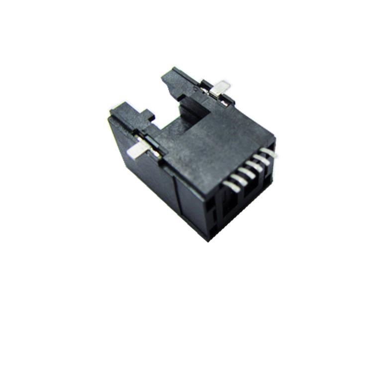 超薄SMTRJ45 8P8C母座生产