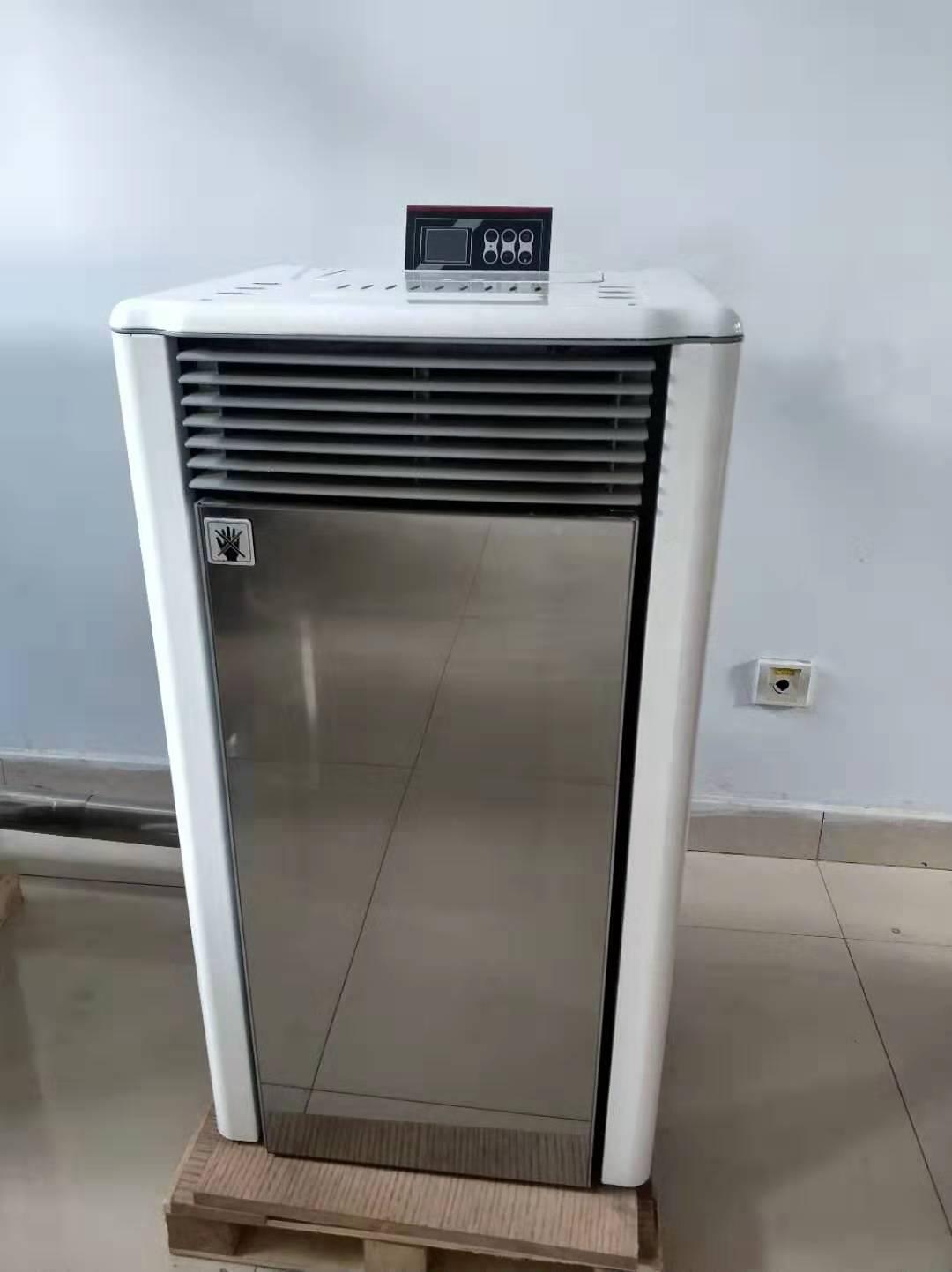 聊城环保颗粒暖风炉品牌 生物质颗粒热辐射炉 比空调更省电