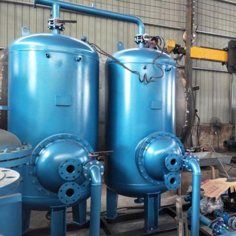 容积式浮动盘管换热器生产厂家 汽-水浮动盘管换热器 旭辉