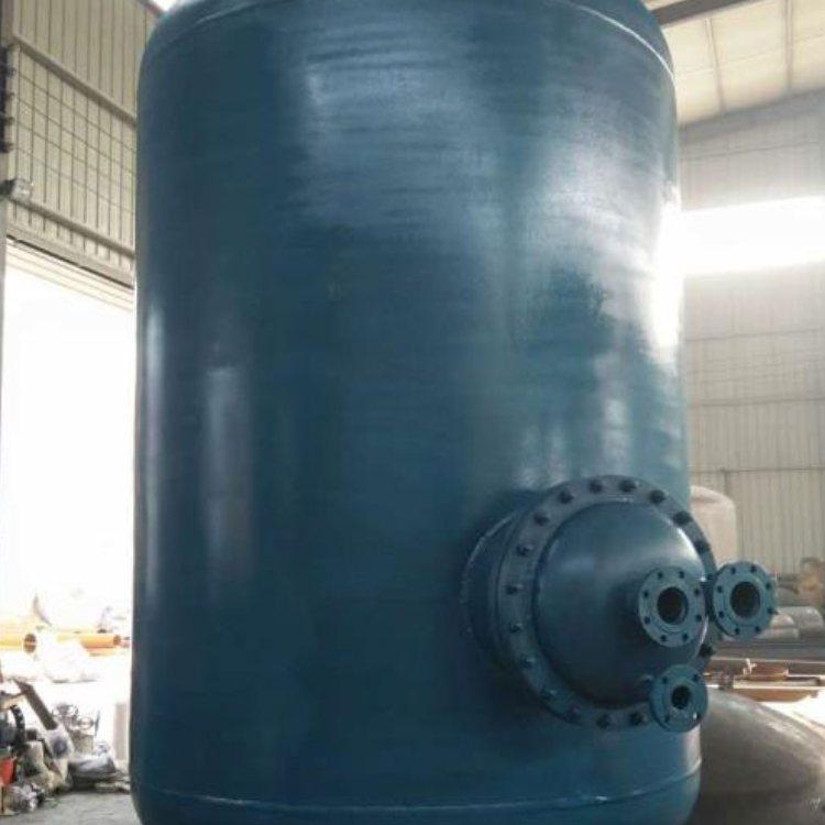 立式浮动盘管换热器厂家现货供应 汽-水浮动盘管换热器