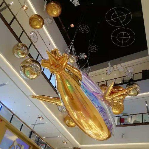 场地装扮幻彩球装饰品牌 乐飞洋 场地装扮幻彩球布置